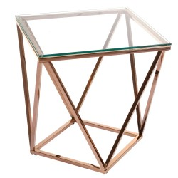 Table d'appoint ONYX - Rose Gold