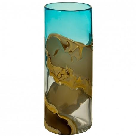 Vase AMAYA en verre soufflé - M
