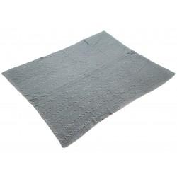Plaid tricot MAM - Gris