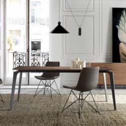 Table à manger VILNIUS - Noyer
