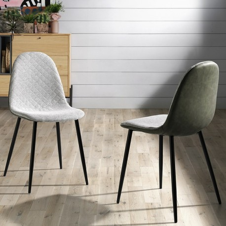 Chaise TAMP Light Gray