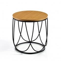 Table Bout de canapé DAKAR - Chêne miel