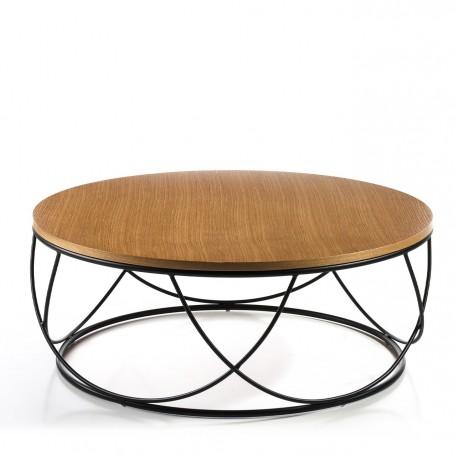 Table Basse de canapé DAKAR - Chêne miel