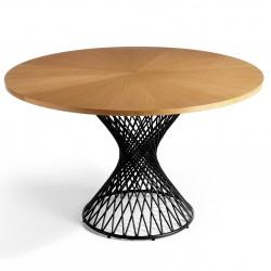 Table à manger TORNADO - Chêne