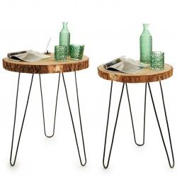 Duo de tables WOODY