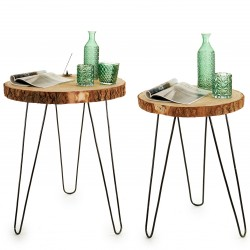 Duo de tables WOODY