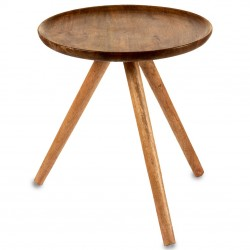 Duo de tables bois de manguier - PACE