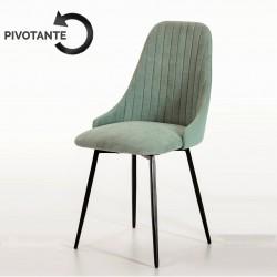Chaise NEODE pivotante - Vert d'eau