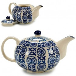 Théière en porcelaine BLUE ORIENT