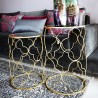 Duo de tables TREFOIL GOLD