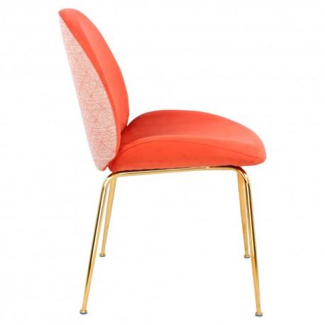 Chaise GAB Velvet & Gold - Corail Touch