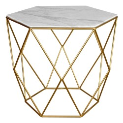 Table MAOLI Marble & Gold