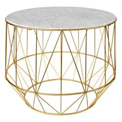 Table DAOLI Marble & Gold