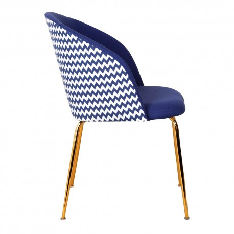 Chaise LALY Cotton & Gold - Liso Edition