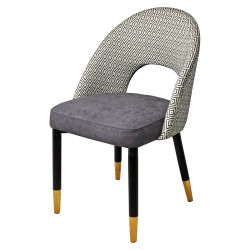 Chaise ICONE Velvet & Gold - Folklore Edition