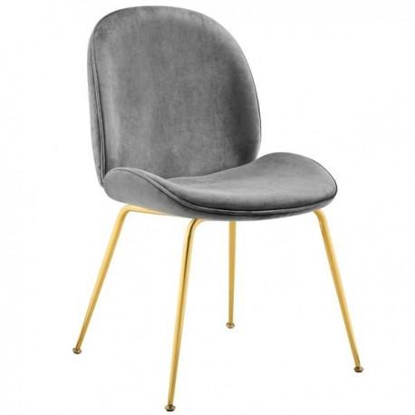 Chaise GAB Velvet & Gold / 6 finitions au choix