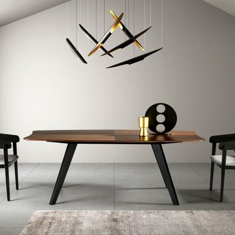 Table à manger LUSAKA - Noyer