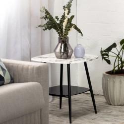 Bout de canapé MARBA - White