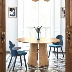Table à manger CURVE - Chêne