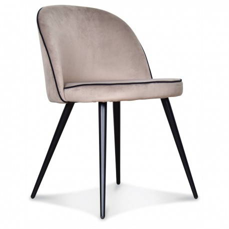 Chaise GONG Cordon - Taupe