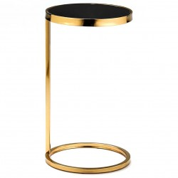 Table d'appoint FAYZ - Black & Gold