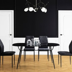 Table à manger MARBA - Black