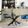 Table à manger PERLAS - Black