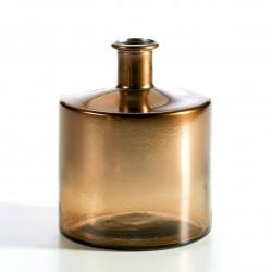 Vase ASHU - verre soufflé - Copper