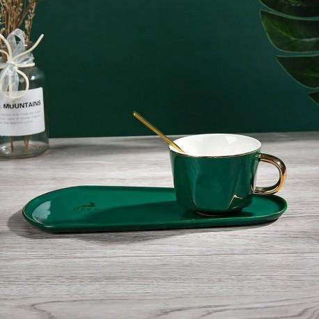 Ensemble 3 pièces JOY Thé ou Café - Emerald