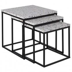 Trio de tables gigognes - YTO