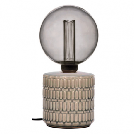 Lampe à poser PRECIOSA - Porcelaine & Laiton