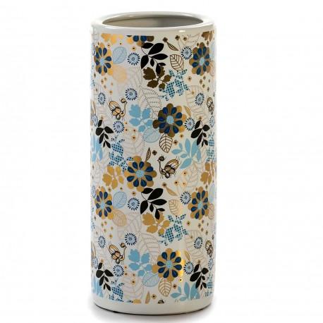 Vase géant JEISEY - Porcelaine Blue & Gold