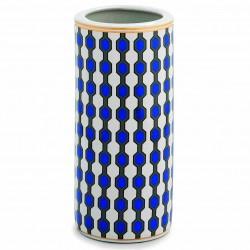 Vase géant LOSEY - Porcelaine Blue & Gold