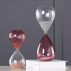 Duo de sabliers BREATH Rosé - 29 et 20 cm