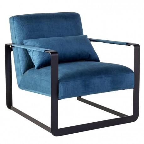 Fauteuil BLOC - Modern Black & Blue