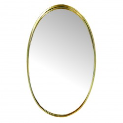 Miroir SHINY Gold - Oval - 50cm