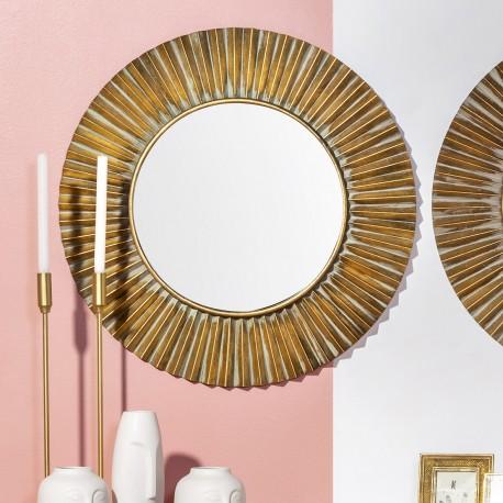 Miroir FOLD Gold - 80cm