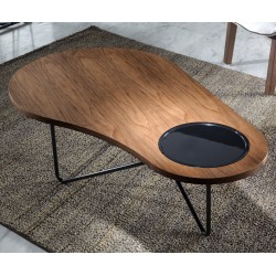 Table basse LOOP - Noyer