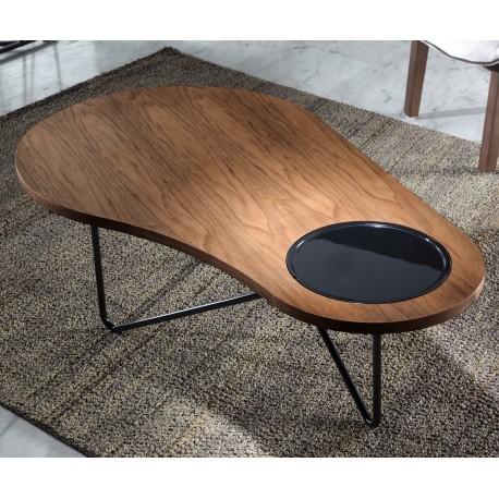 Table basse LOOP - Noyer