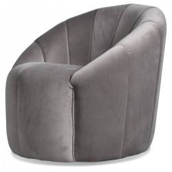 Fauteuil RANIA - Gris Taupe
