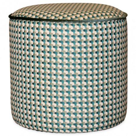 Tabouret JILY - Velours pixel