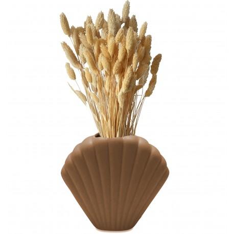 Vase CASCA en grès cérame - Nude