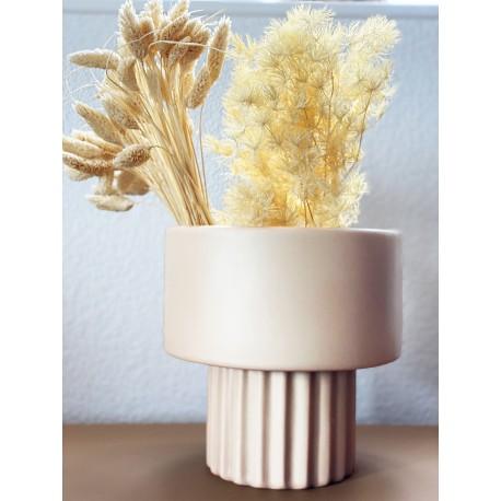 Vase KEDJY en grès cérame - Sable
