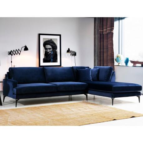 Canapé d'angle SAILOR - Bleu Navy