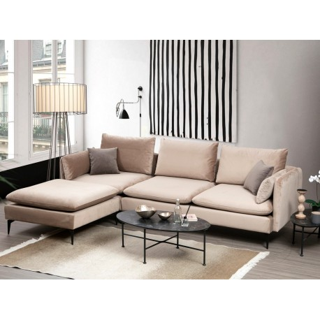Canapé d'angle modulaire PILAR - Beige
