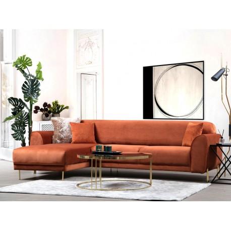 Canapé d'angle ANCHOR - Cannelle