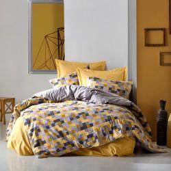 Parure de lit en Coton renforcé PIXIE - 2 places - 240x260cm