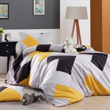 Parure de lit en Coton renforcé ORIANE - 1 place - 160 x 240cm
