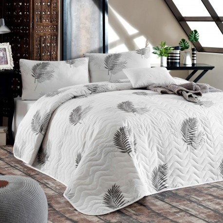 Ensemble de lit en Coton PLUMA - 2 places - 200x220cm