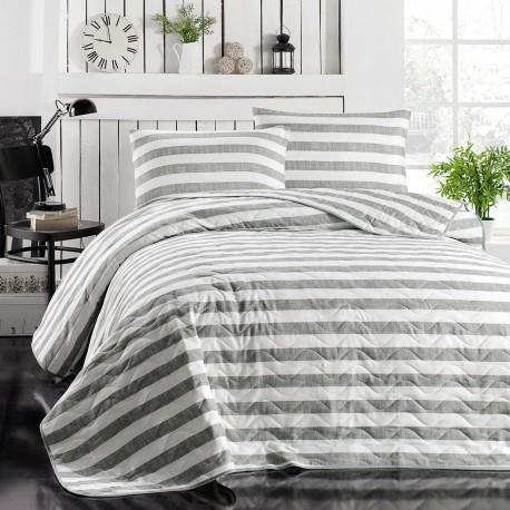 Ensemble de lit en Coton RAYAS - 2 places - 200x220cm